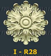 Деревянная Резная Розетка  I - R28