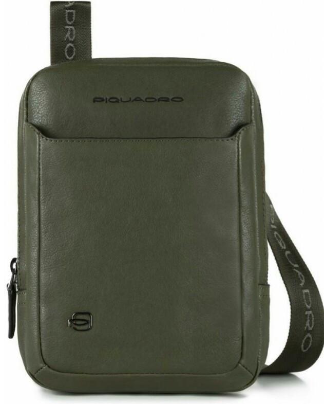 Сумка кожаная Piquadro ca3084b3 ve, мужская, зеленая