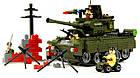 Конструктор Tanks з серії Combat Zones Brick, модель 823, фото 4