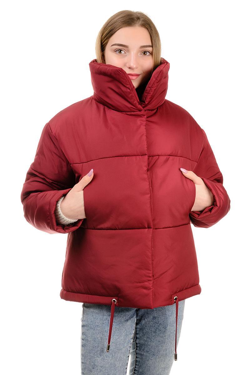 Демисезонная женская куртка Марго марсала