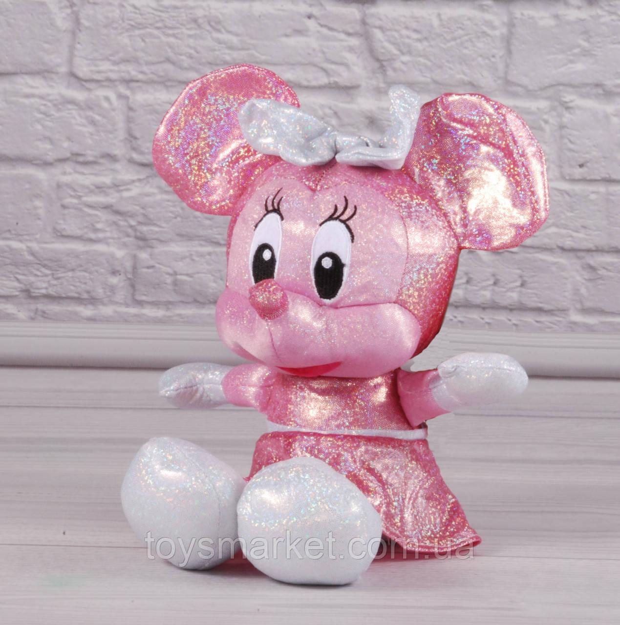 Мягкая игрушка мышка Минни Маус, Minni Mouse, плюшевая мышь