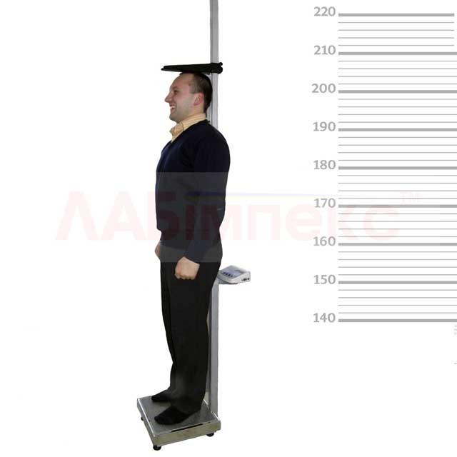 Весы медицинсие с ростомером ТВ1