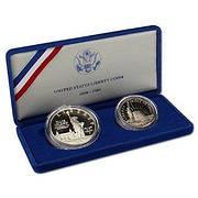 Монеты США из серебра