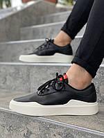 Мужские кроссовки Jordan (black/white), мужские кеды Jordan (реплика ААА)