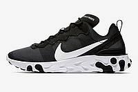 Кроссовки мужские Nike React Element 55 BQ6166-003 Черные