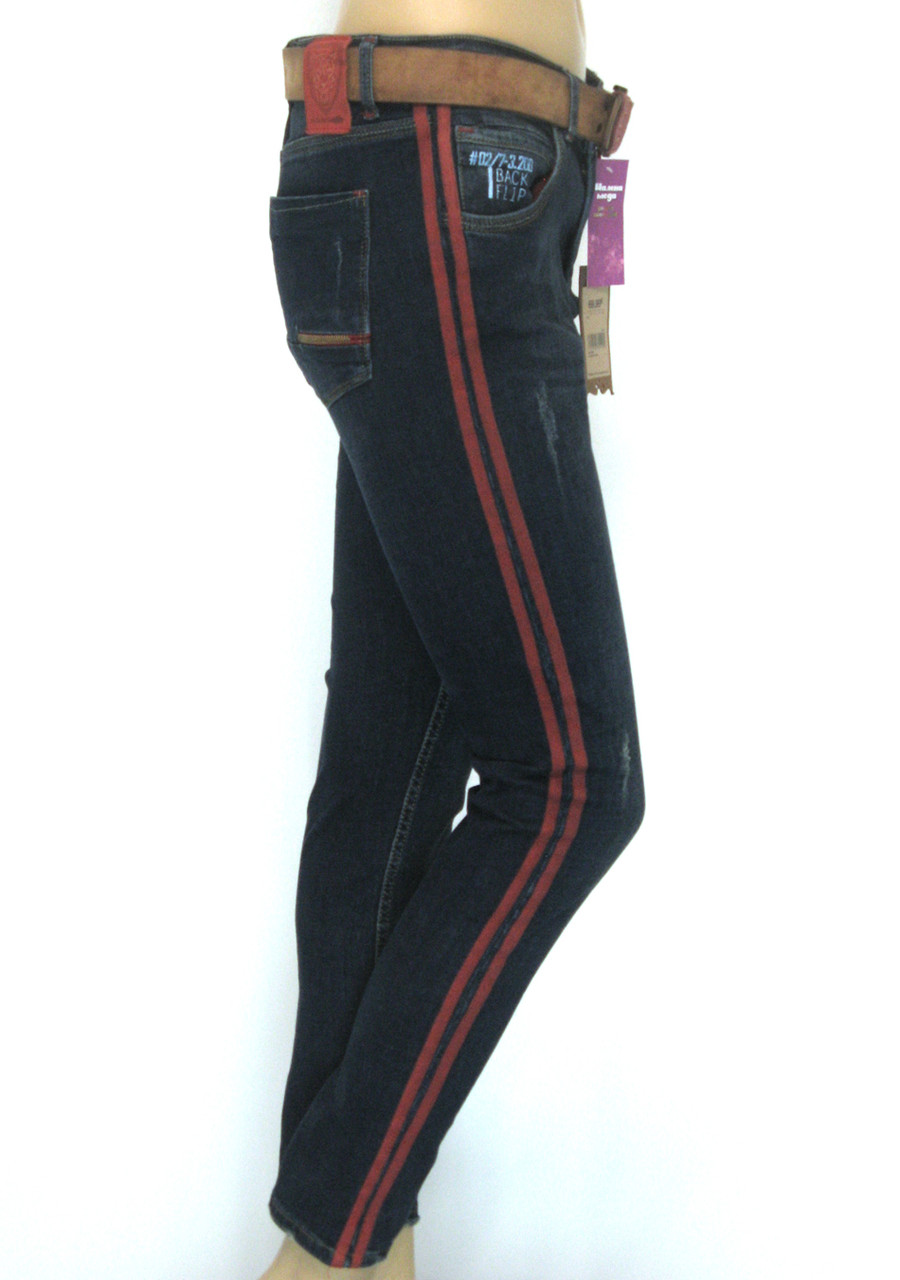 Жіночі джинси з лампасами