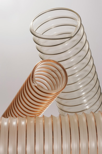 Рукава аспирационные, шланги вентиляционные, воздуховоды гофрированные, трубопроводы гибкие