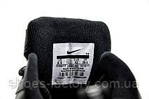 Мужские кроссовки в стиле Nike Air Monarch IV, Черные с белым (Кожа), фото 3