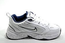 Белые женские кроссовки в стиле Nike Air Monarch IV, White (Кожа), фото 3