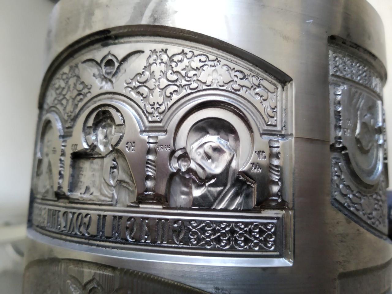 Ролик для холодной художественной ковки (триптих церковный)