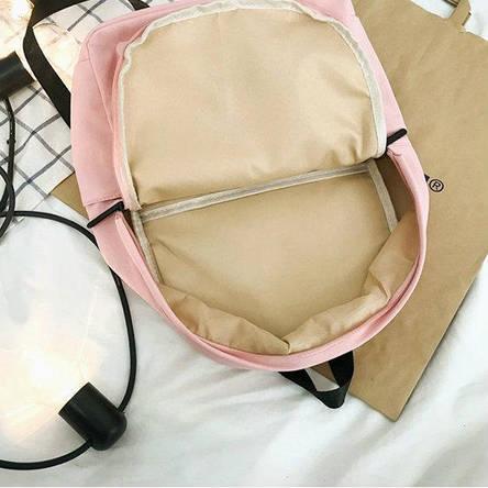 Рюкзак городской однотонный, фото 2