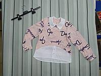 Стильная блуза-рубашка, фото 1