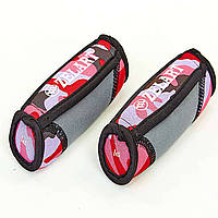 Гантели для фитнеса с мягкими накладками (2x1кг) FI-5730-2