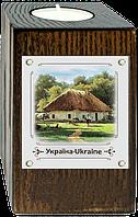 """Еко-підсвічник """"Україна""""""""Хата з сільським подвір`ям"""""""