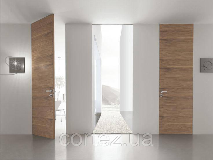 Межкомнатные шпонированные двери скрытого монтажа