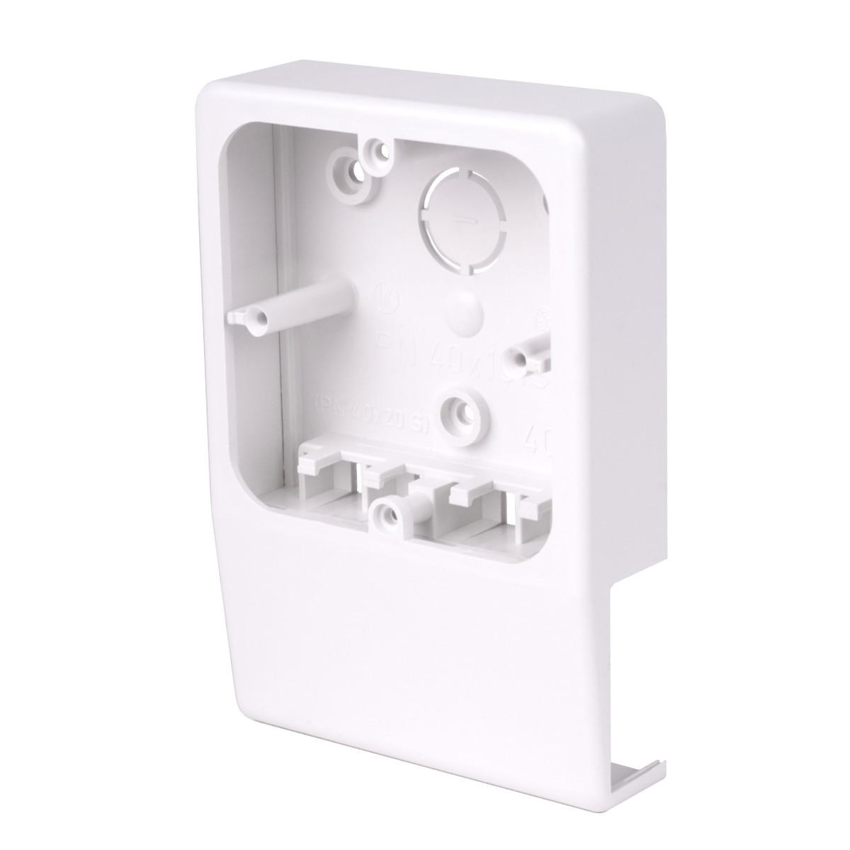 Приладовий носій для  кабельних каналів LV 40x15 (білий)