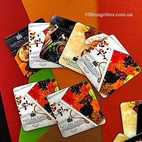 Рекламные магнитики для интернет-магазина. Размер 63х63 мм 1
