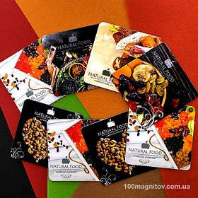Рекламные магнитики для интернет-магазина. Размер 63х63 мм 3