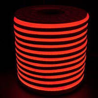 Светодиодный LED гибкий неон Ledstreet 2835\120 IP68 220V, Красный