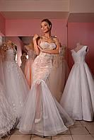 Свадебное платье с лейсами, фото 1