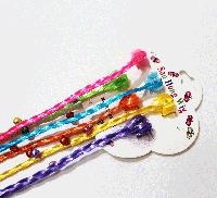 Цветные пряди на заколках