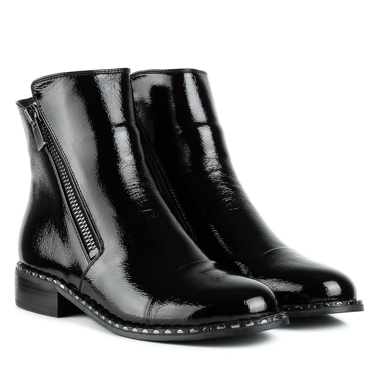 Ботинки женские AIFORMARIA (черные, модные, стильные, удобные)