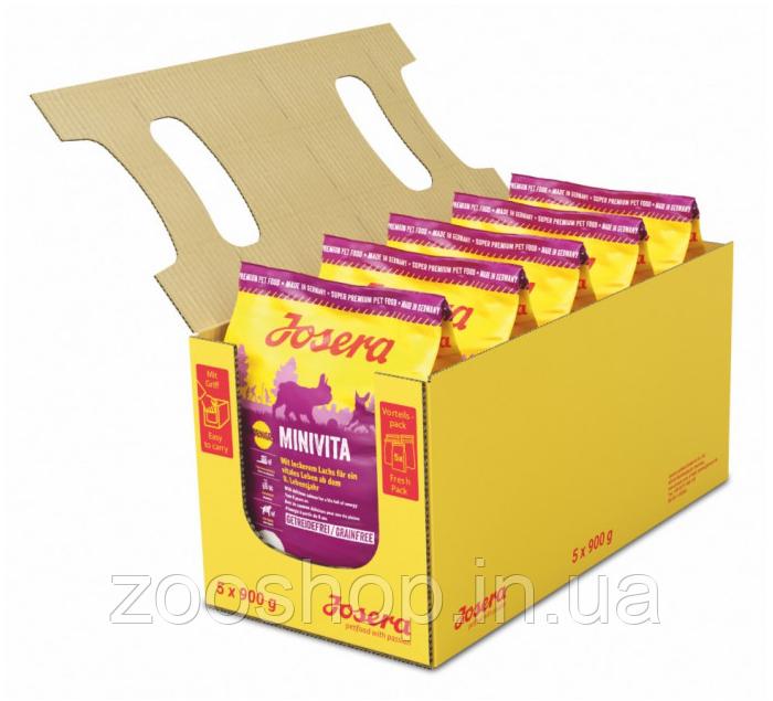 Josera MiniVita сухой корм для пожилых собак маленьких пород 4,5 кг