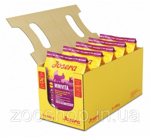 Josera MiniVita сухой корм для пожилых собак маленьких пород 4,5 кг, фото 2