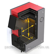 Дровяной котел ProTech ТТ-9с Д Luxe на твердом топливе, фото 2