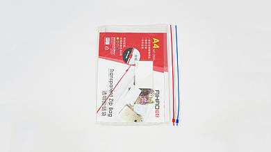 Пластиковая папка со змейкой А4 AIHAO AH2505