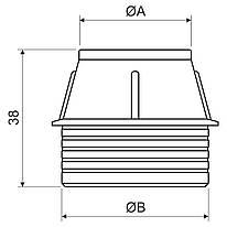 BK 32_AA Кінцевик для труби