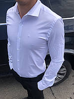 """Рубашка юниор школьная с длинным рукавом на мальчика размеры XS-XL """"A.ROSSI"""" недорого от прямого поставщика"""
