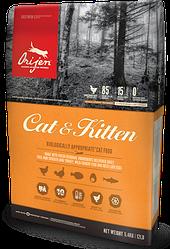 Корм Orijen Cat&Kitten Ориджен Кет&Кіттен для кішок всіх порід і вікових груп 1,8 кг