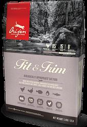 Корм Orijen Fit&Trim Ориджен Фіт&Трім для котів із зайвою вагою 5,4 кг