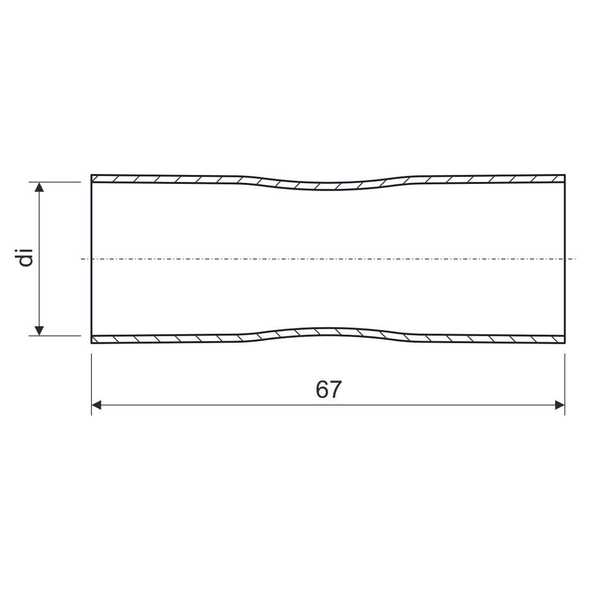 313/2_XX Муфта безрізьбова для металевих труб (CSN)