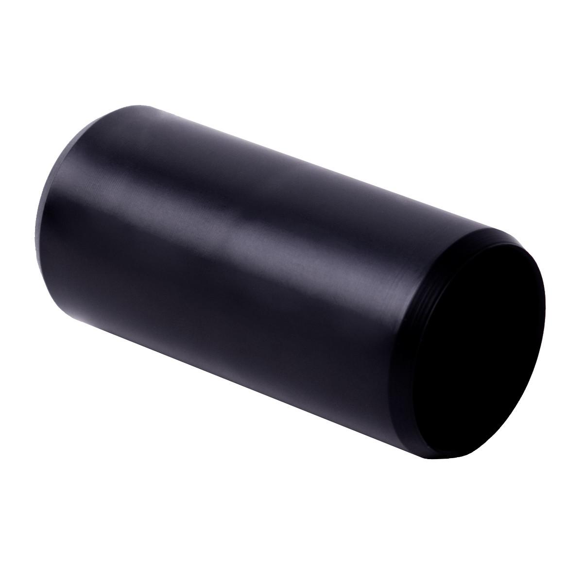 Муфта з'єднувальна для труби 50 мм; Ø50 мм; УФ-стійкі; полікарбонат; безгалогенна; t застосування -45-90 °с; чорна; Упаковка 10 шт