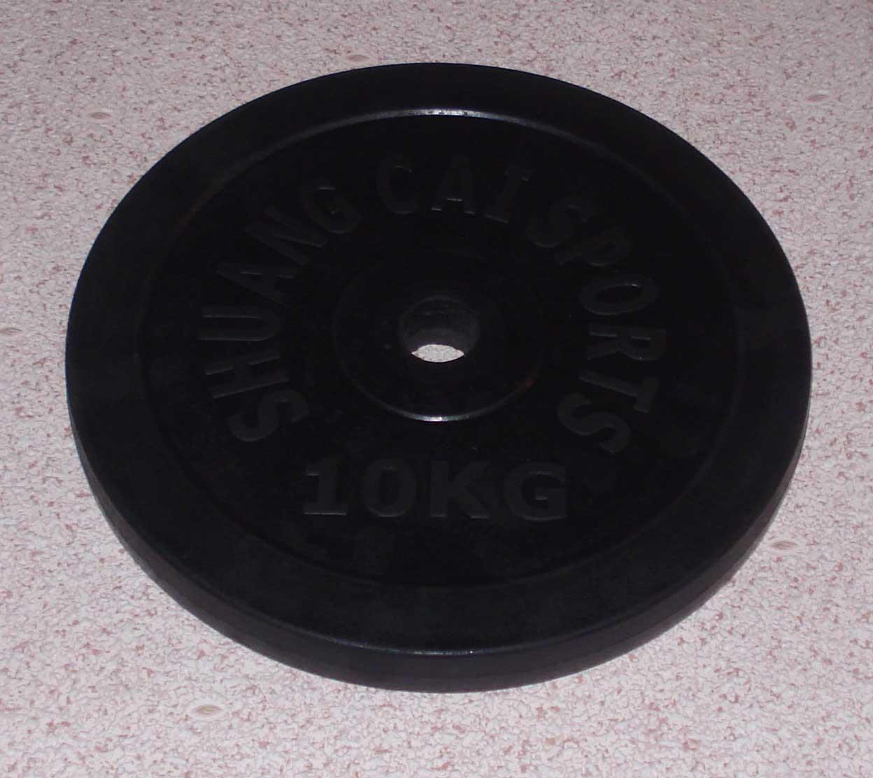 Блин обрезиненный 10 кг (30 мм)