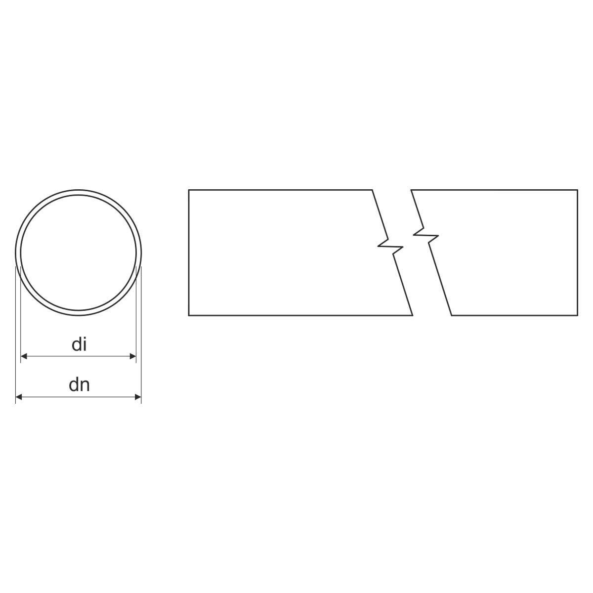 Труба сталева, гаряча оцинковка зануренням, без різьби; діам зовн 40; внутр 34,4;  довжина 3м (ЕN) ст. к 4