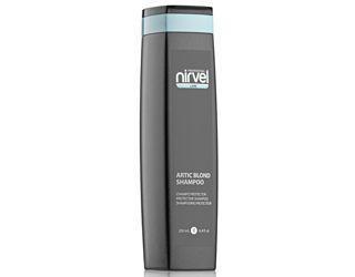 Шампунь для волосся холодних відтінків блонд Нирвел Nirvel Artic blond shampoo 250ml 7409