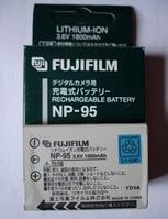 Аккумулятор FujiFilm NP-95 для FinePix F30   X100   F31fd   Real 3D W1   Fuji X-S1