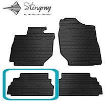 SUZUKI Jimny 2018- Задний левый коврик Черный в салон