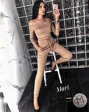 Жіночий костюм з кроп топом  від Стильномодно
