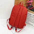 Рюкзак для девочек с бабочкой и шнуровкой., фото 4