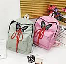 Рюкзак для девочек с бабочкой и шнуровкой., фото 6