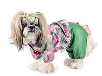"""Дождевик """"ЛИЛУ"""" для собак, размер М (для девочек)"""