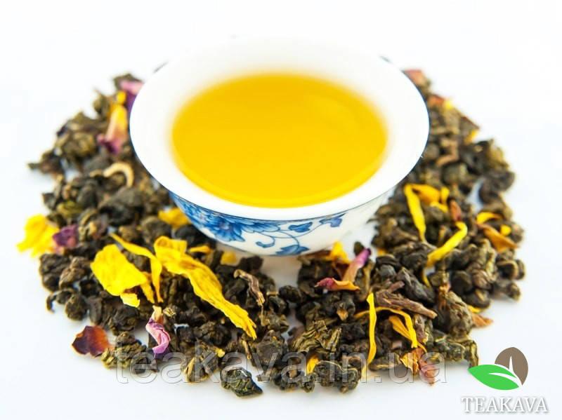 Персиковый Улун (ароматизированный чай), 50 грамм