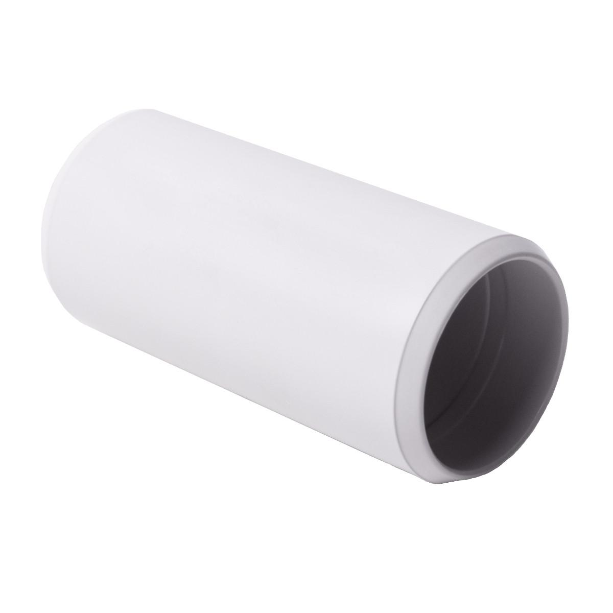 Муфта з'єднувальна для труби 40 мм ; Ø40мм; полікарбонат; безгалогенна; t застосування -45-90 °с; світло-сіра; Упаковка 10 шт