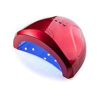 Сенсорная гибридная лампа SUNone UV LED 48 W, красная