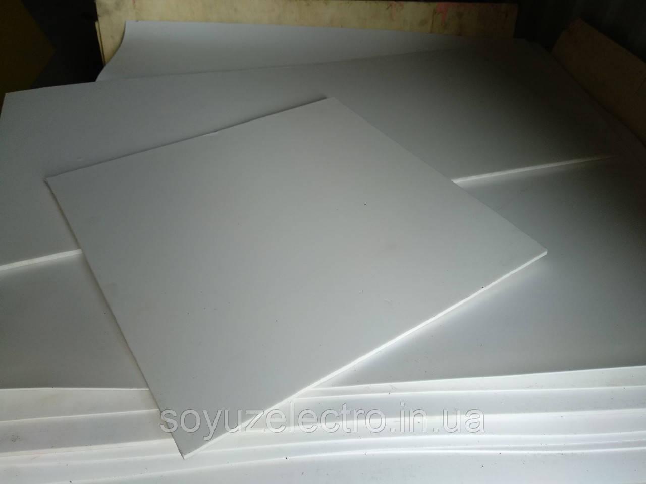 Фторопласт лист Ф4 8 мм 500х500 мм