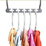 Чудо вешалка Wonder Hanger (8 штук в упаковке) + подставка для обуви!, фото 2